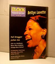 Block BLUES Magazine 2000 / 112 Bettye Lavette - Tail Dragger - Julien Sas