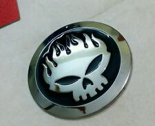 3D SKULL OFFSPRING Metal Emblem Refitting Badge Sticker Car Styling Auto Deco