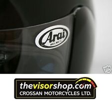 10 x Arai Visor Sticker Badge GEL type Domed Non Fade