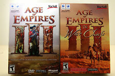 (NEW) Age of Empires III (Apple, 2006) + War Chiefs Expansion (NEW)