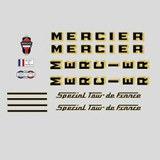 Mercier Special Tour de France Bicycle Frame Stickers - Decals n.0624