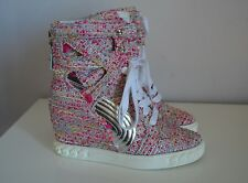 sneakers donna casadei shoes woman SIZE 6us pink  36eu