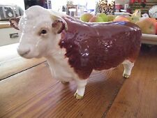 "Beswick Hereford Bull CH of Champions 4 & 1/2"" tall & 7 & 3/4"" long"