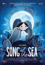 "015 Song of the Sea - 2014 Film Animated Fantasy Movie 14""x20"" Poster"
