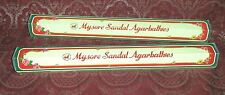 LOT x2 Mysore Sandal Premium SANDALWOOD Incense 20 Sticks USA SELLER Free Ship