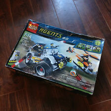 Sealed Lego Agents Wheeling Pursuit (8969) New Sealed with Damaged Box