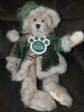 """2002 Boyds  Best BEAR """"IVES"""" #81625561 DRESSED IN HOLIDAY BEST CHRISTMAS THEME"""