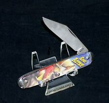 """Colonial Character Knife """"Gene Autry"""" Master Brand Circa-1970's USA Made Rare"""