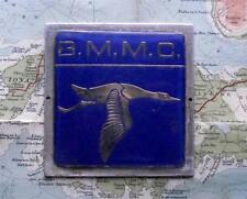Genuine Vintage Car Mascot Badge : British Motorsports Marshalls Club BMMC