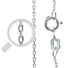 """Silver Italy Cable 030 Chain 0.6mm Sterling Silver 925 Best Price Jewelry 18"""""""