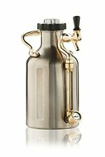 uKeg 64 Pressurized Stainless Steel Growler Pint Dispenser for Craft Beer - NEW