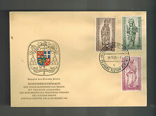 1955 Berlin West Germany First Day Cover # 9NB14-9NB16 Bishop of Berlin FDC