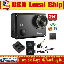 Gitup Git2 2K Sport Action Camera Waterproof DVR 1080P 16MP Wifi+Battery+Charger