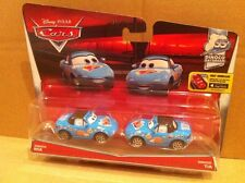 DISNEY CARS DIECAST - Dinoco Mia & Tia  - New 2016 Card -Combined Postage