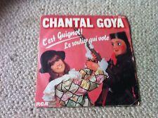 chantal goya 45 t c'est guignol le soulier qui vole 1981