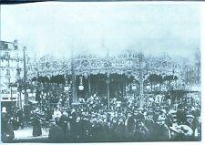 CP 75 Paris - Foire du Trone IV - Reproduction manège 1879