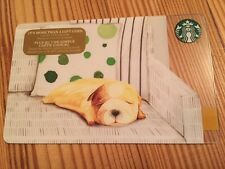 "Canada Series Starbucks ""RESTING PUPPY 2016"" Gift Card - New No Value"