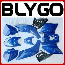 BLUE Plastics Fairing Fender Guards Cover Kit 125cc TIGER Quad Dirt Bike ATV