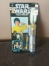 "1977 Kenner ""Star Wars"" Electronics Toothbrush moc -Factory Sealed- UNPUNCHED"