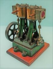 TWIN CYLINDER STEAM  MARINE ENGINE MODEL