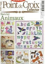 POINT DE CROIX COLLECTOR N°13 SPECIAL ANIMAUX escargots rigolos, a l'écurie...