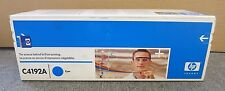 HP C4192A New Sealed Original Cyan Laser Toner Print Cartridge
