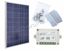 100W  12V Solar Panel PV Solar Panels 100Watt Solar bundle Kit for 12V Home Car