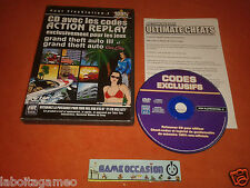 CODES ACTION REPLAY GTA GRAND THEFT AUTO III 3 ET VICE CITY PS2 PLAYSTATION SONY