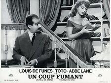 LOUIS DE FUNES TOTO, EVA E IL PENNELLO PROIBITO 1959 VINTAGE LOBBY CARD #9  R70