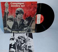 PINO MASI compagno sembra ieri LP ORIG + LIBRO  italian prog psych progressive
