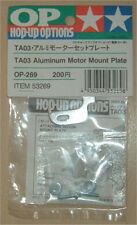 Tamiya TA03 / TA06 Aluminium Motor Mount Plate NEW 53269