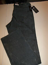 32 X 36 ROCK & REPUBLIC STRAIGHT LEG NEIL CORDUROY JEANS -GRAY- NWT
