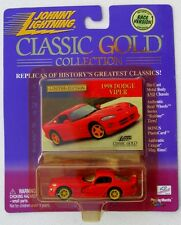 JOHNNY LIGHTNING R6 CLASSIC GOLD COLLECTION 1998 DODGE VIPER EXCLUSIVE