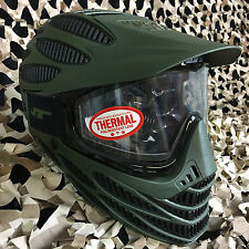 NEW JT Flex 8 Full Coverage Thermal Paintball Mask Helmet Goggle - Olive/Black