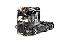 "TEKNO SCANIA R TRACTEUR SOLO 6X2 "" BART FRANSEN "" MINT IN BOX"