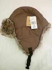 Timberland quilted nylon trapper hat - olive - size M