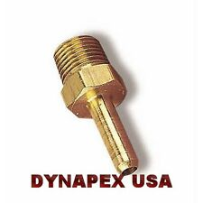 """Hose Coupler 1/4"""" Barb x 1/8"""" Male NPT Water Fuel Oil Air Gas Fitting Brass N-7J"""