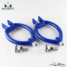 Rear Adj Upper Control camber Arm Kit  For 240SX S13 89-94 300ZX 90-96 Blue