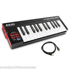 Akai LPK25 Wireless Battery Powered USB MIDI Keyboard Controller + Bluetooth