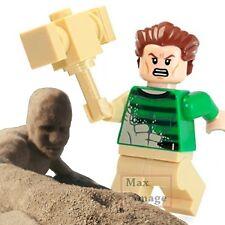 1pc Sandman Custom Minifigure fits Lego ToyMarvel Spiderman Villain #327