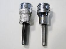 "2 PC Snap On Hex Drivers 3/8"" Drive - FA6E, & FA7A"