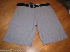 Men's Tommy Hilfiger shorts 32 NWT 7833826 Washed Black 007 belt casual TH RARE