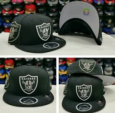 New Era NFL Black Oakland Raiders Reflective 9fifty snapback Hat Cap