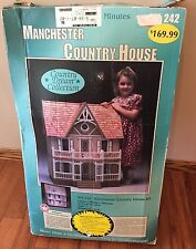 New VINTAGE DURA-CRAFT MANCHESTER COUNTRY HOUSE DOLL HOUSE KIT