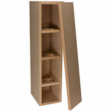 Knock-Down MDF 1.16 ft³ Tower Cabinet