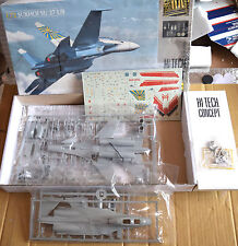 HELLER SUKHOI SU-27UB HI-TECH 1/72 VINTAGE MODEL KIT RARE