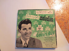 Dennis Day - Shamrock Melodies  3 Record boxed Set   - 45 rpm   Good