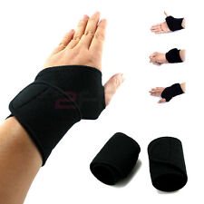 Hand Band Magnetic Heat Thumb Loop Splint Wrist Brace Support Strap Pain Relief