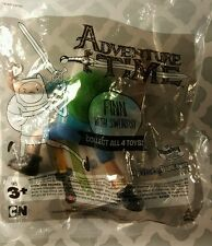 """Sonic wacky pack ADVENTURE TIME toy- 4"""" FINN ACTION FIGURE (factory sealed NEW)"""