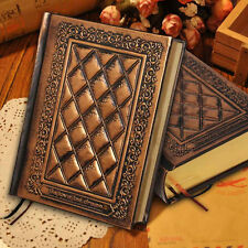 Retro Vintage Journal Diary Notebook Leather Blank Hard Cover Sketchbook Paper